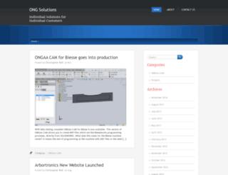 ongsolutions.ca screenshot