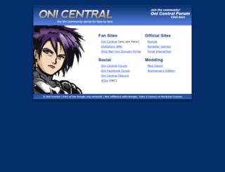 oni.bungie.org screenshot
