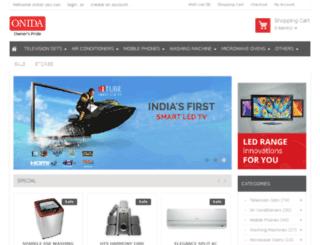 onida.squeakee.com screenshot
