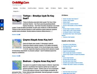 onikibilgi.com screenshot