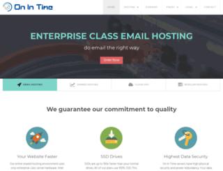 onintime.com screenshot