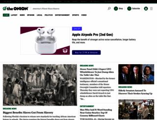 onion.com screenshot