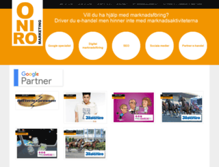 oniro.se screenshot