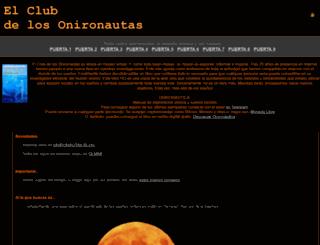 onironautas.org screenshot