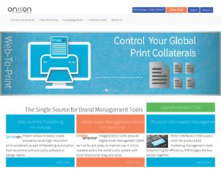 onison.com screenshot