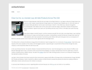 onitachristian.wordpress.com screenshot