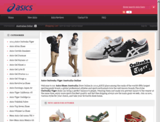 onitsukatigeraustralia.webs.com screenshot