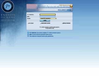 onkayit.gazi.edu.tr screenshot