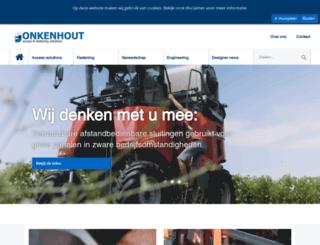 onkenhout.nl screenshot