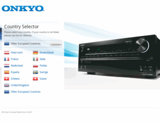 onkyo.net screenshot