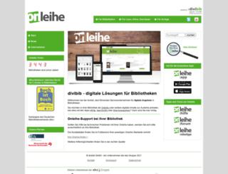 onleihe.at screenshot
