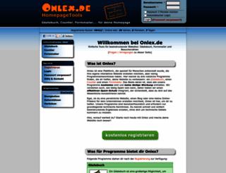 onlex.de screenshot