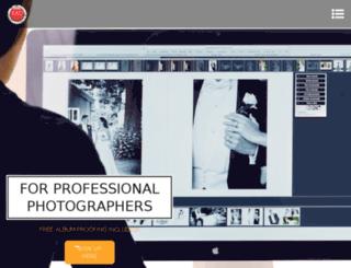 online-albumdesigner.com screenshot