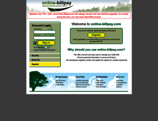 online-billpay.com screenshot