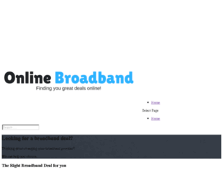 online-broadband.co.uk screenshot