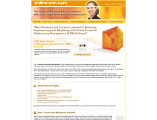 online-crm.com screenshot