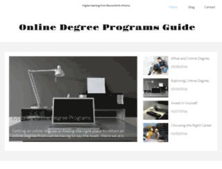 online-degree-programs-guide.com screenshot