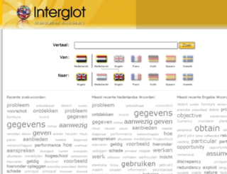 online-dictionary.nl screenshot