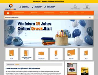 online-druck.biz screenshot