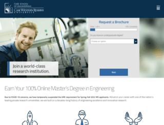 online-engineering.case.edu screenshot