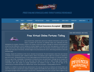 online-fortune-telling.com screenshot