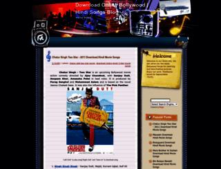 online-hindisongs.blogspot.com screenshot