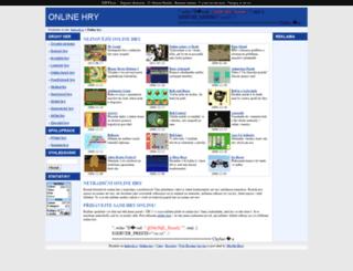 online-hry.imbecil.cz screenshot