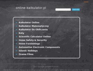 online-kalkulator.pl screenshot