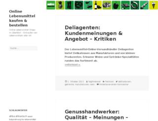 online-lebensmittel.org screenshot