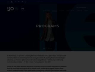 online-masters.blogs.ie.edu screenshot