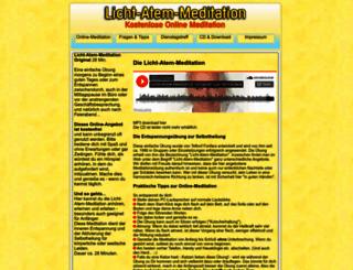online-meditation.de screenshot