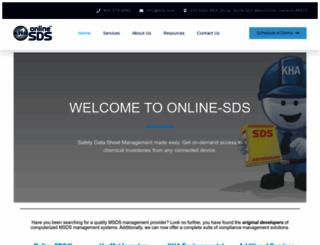 online-msds.com screenshot