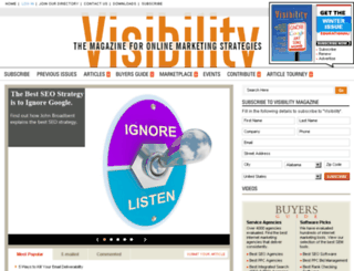 online-reputation-management.visibilitymagazine.com screenshot