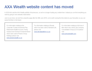 online-services.axawealth.co.uk screenshot