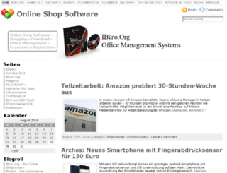 online-shop-software.org screenshot