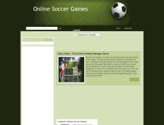 online-soccer-games.blogspot.com screenshot