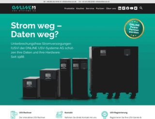 online-ups.com screenshot