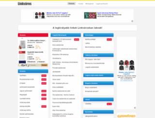 online-vasarlas.linkvaros.hu screenshot