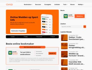online-wedden-bookmakers.nl screenshot