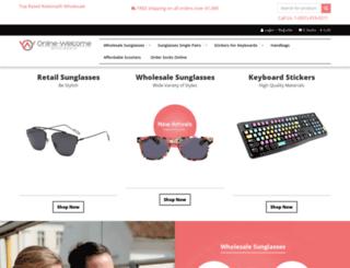 online-welcome.com screenshot
