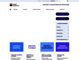 online.ald-automotive.es screenshot