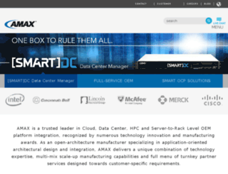 online.amax.com screenshot