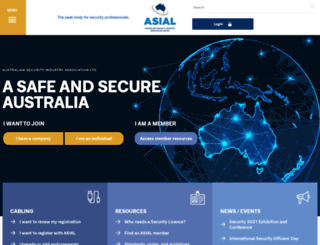 online.asial.com.au screenshot