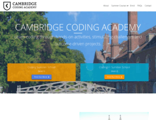 online.cambridgecoding.com screenshot