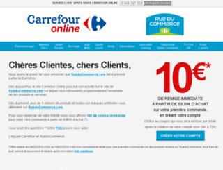 online.carrefour.fr screenshot