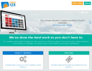 online.church123.com screenshot
