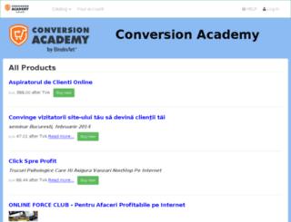 online.conversionacademy.eu screenshot