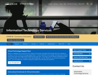 online.csusb.edu screenshot