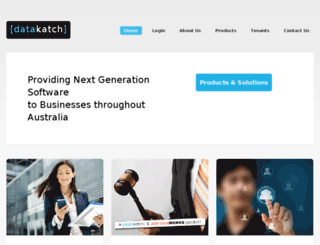 online.datakatch.com.au screenshot