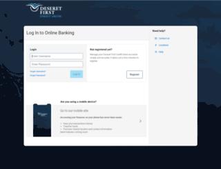 online.dfcu.com screenshot